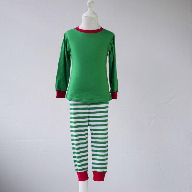 7fb6dfbf2c boutique kid teenage toddler girls fall winter pajamas SleepWear boys kids  toddler child red green striped