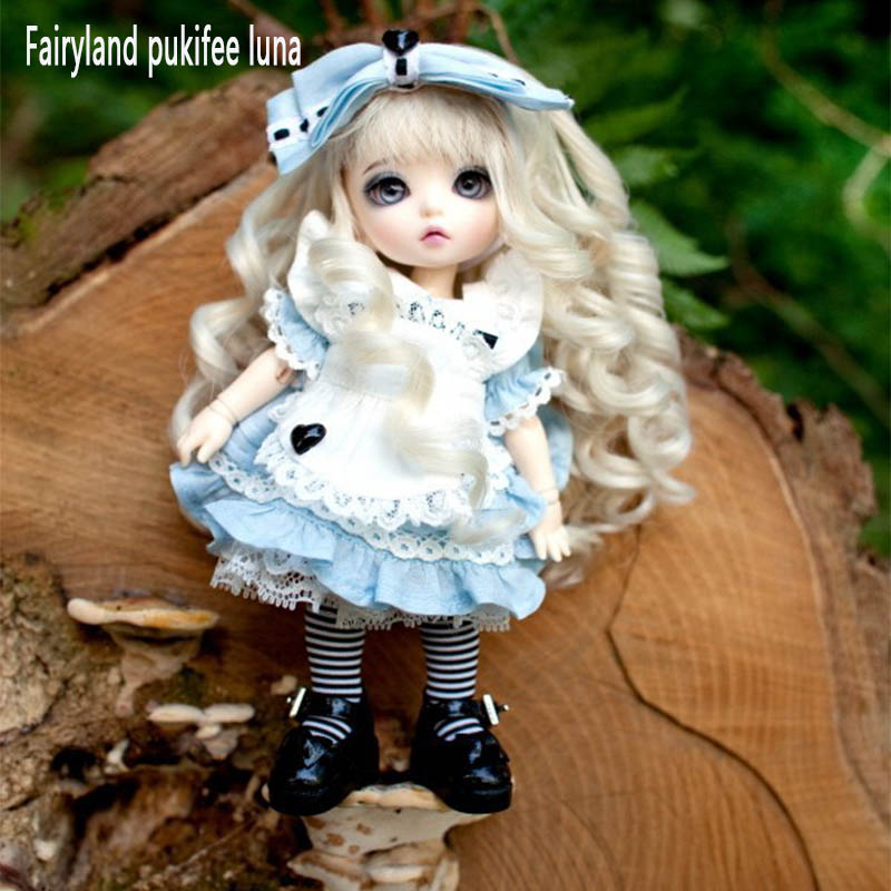 Fairyland pukifee Luna 1/8 bjd sd doll resin figures luts ai yosd kit doll not for sales bb toy baby gift iplehouse free shipping fairyland littlefee reni bjd resin figures luts ai yosd volks kit doll not for sales bb soom toy gift iplehouse