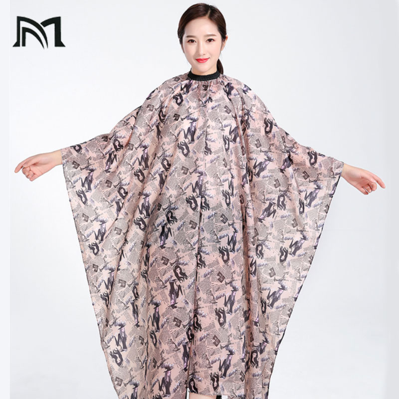 Hairdresser Capes Professional Cutting Hair Waterproof Cloth Salon Barber Gown Cape Hairdressing Hairdresser Cape for Adult