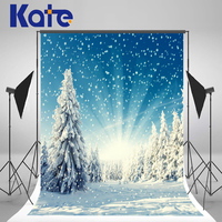 Kate Backdrop Frozen Snow Backgrounds For Photo Studio Winter Christmas Backdrop Photography For Wedding Background