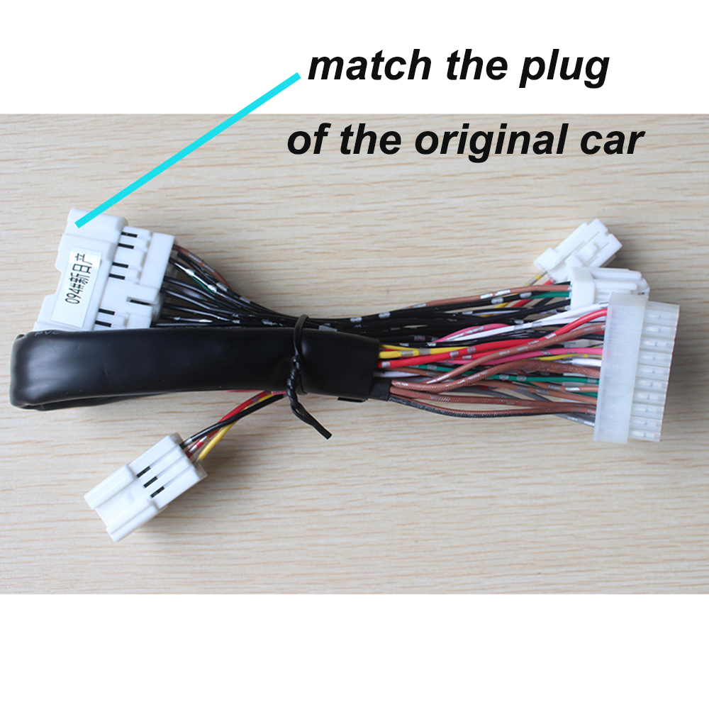 Car Stereo Radio Harness Antenna Extension Usb Cable Wire For Nissan Cd Audio Wiring Adapter Subaru Infiniti Winsgo Power Window Closer Closing By Key Qashqai 2014 2018 X