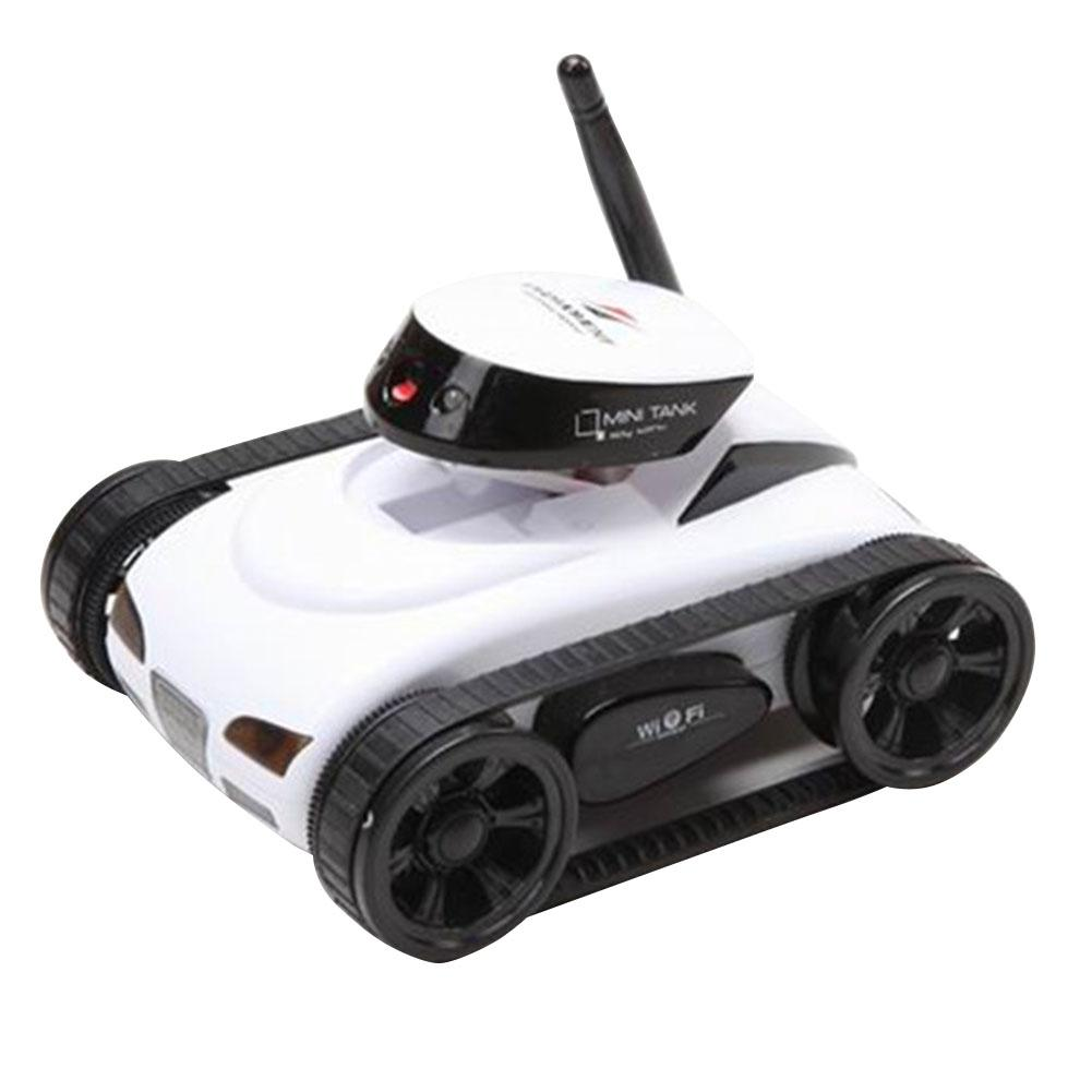LeadingStar Mini App-controlled RC Tank Real-time transmission of video wifi with camera metal remote control RC Tank for gift wifi mini rc camera tank car ispy with video 0 3mp camera 777 270 remote control robot with 4ch suppots by iphone android app