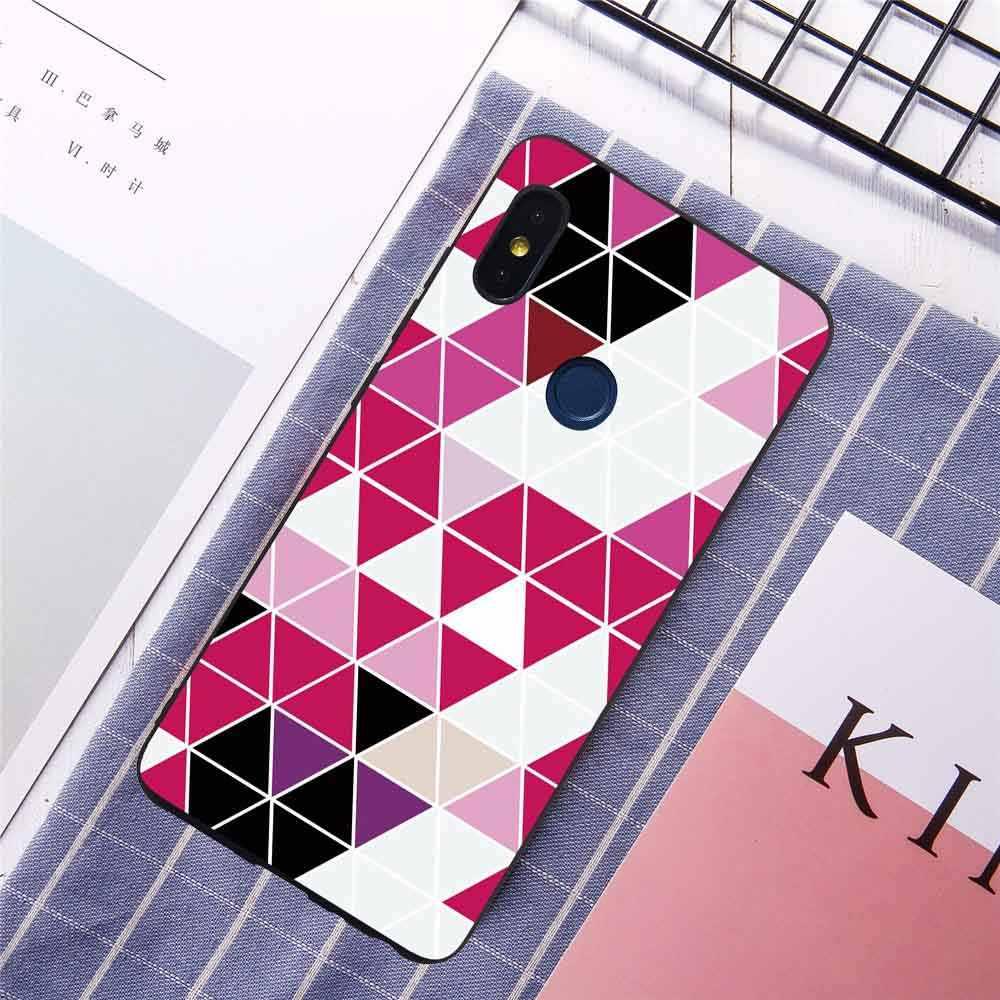 עבור Redmi הערה 6 פרו 6A S2 טלפון מקרה Xiaomi 8 SE 8SE 6X 5X A1 A2 יפה פרחי עלים אופנה Skins Fundas Coqe Coque