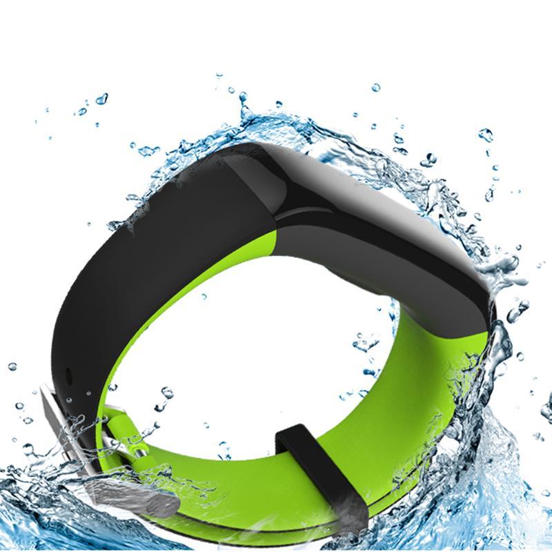 Étanche IP67 Bluetooth bande intelligente Bracelet montre tension artérielle santé sommeil moniteur moniteur de fréquence cardiaque Bracelet - 2