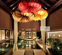 A1 The new Chinese style Pendant Lights creative fabric beauty salon restaurant conch hotel project lighting Pendant lamps.