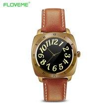 FLOVEME Retro K2 Smartwatch Für iOS iPhone/Für Samsung Sony Androld Telefon Alle Kompatibel Smart Uhr Batterie 350 mAh handgelenk Watchs