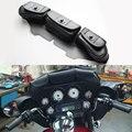 Nova ferramenta do couro 3-Pocket para Harley 96 - 13 Electra FLHTCU FLHX rua Glide FLHT frete grátis