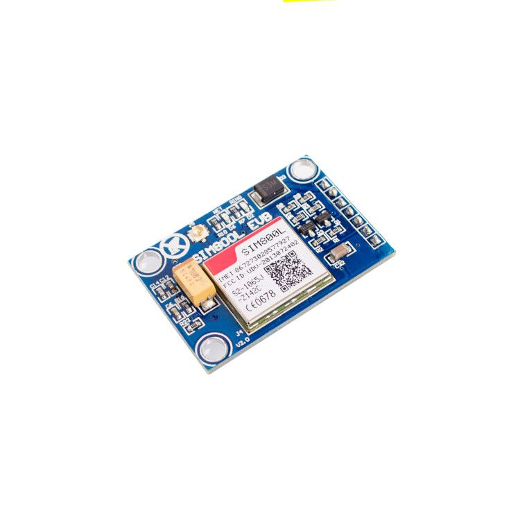 Image 2 - 10pcs/lot SIM800L V2.0 5V Wireless GSM GPRS MODULE Quad Band W/ Antenna Cable Cap-in Integrated Circuits from Electronic Components & Supplies