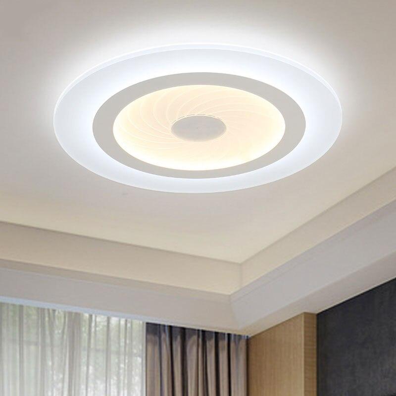 2016 Moderne Led Deckenleuchten Acryl Ultradnne Wohnzimmer Schlafzimmer Dekorative Lampenschirm Lamparas De Techo