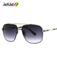 Victoire JackJad 2018 Moda Estilo Aviação Homens Condução Óculos de Sol  Frescos UV400 Design Da Marca Óculos de Sol Oculos de So. 95df276f8e
