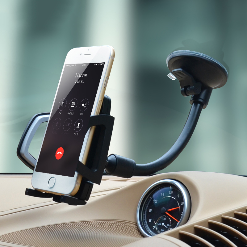 Car Phone Holder Suction Cup Dashboard Windshield Mobile Cell Phone Mount Stand For IPhone X 7 6s Samsung S9 S8 Xiaomi Bracket