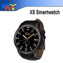 """2016 neue X5 1,4 """"kreis 3G Android Smart uhr K18 Plus intelligente Uhr smartwatch Android 4.4 Wifi Herzfrequenz für Android/IOS"""