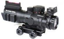 Super Deals Vector Optics Goliath 4×32 Tactical Rifle Scope Fiber Optics Sight Crosshair .223 4/6 Ballistic Reticle