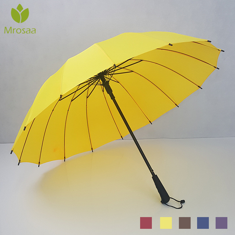 Auto Big Windproof Umbrellas Rain For Women / Men