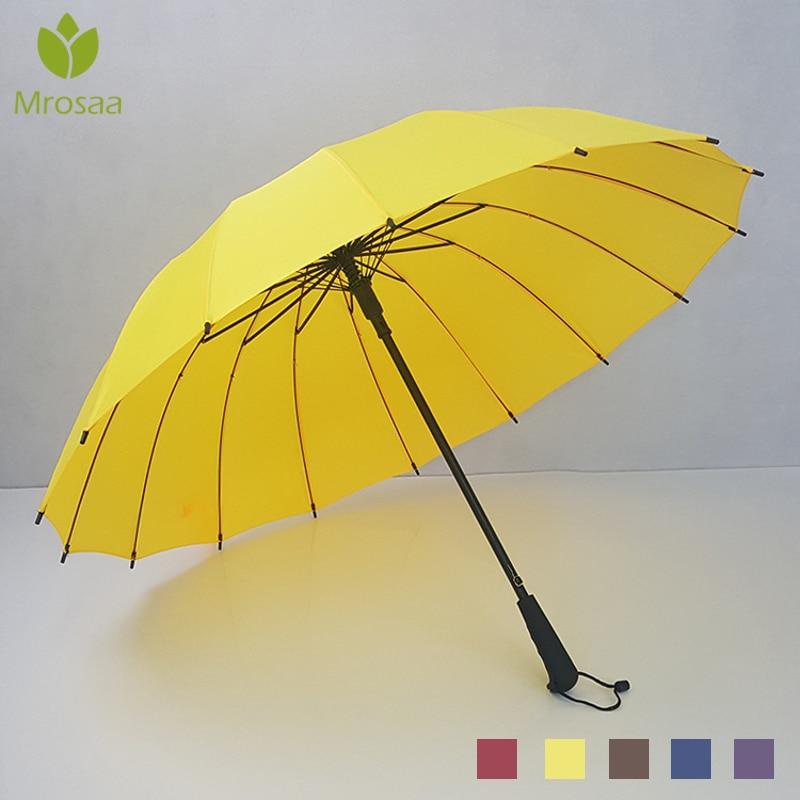 Auto Big Windproof Umbrellas Rain For Women / Men