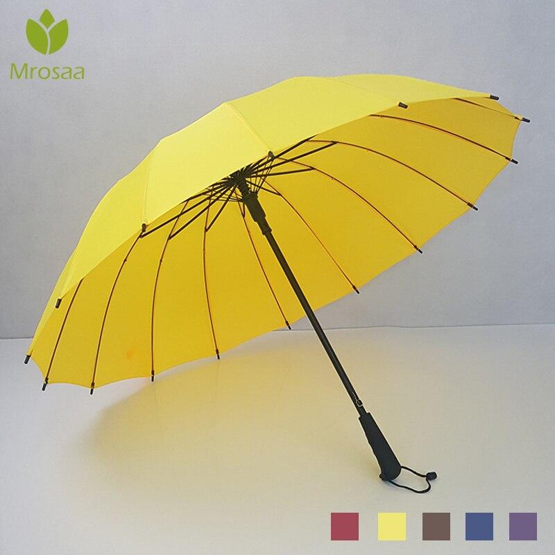 Mrosaa vento resistente dobrável automático guarda-chuva chuva feminino grande à prova de vento guarda-chuva para homens botão aberto guarda-sol