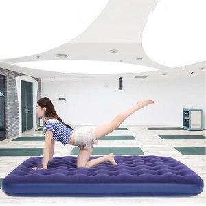 Image 4 - أريكة هوائية قابلة للنفخ سرير قابلة للطي أثاث خارجي حديقة أريكة سرير غرفة المحمولة لينة متعددة الوظائف فراش سرير قابل للطي 5 أحجام