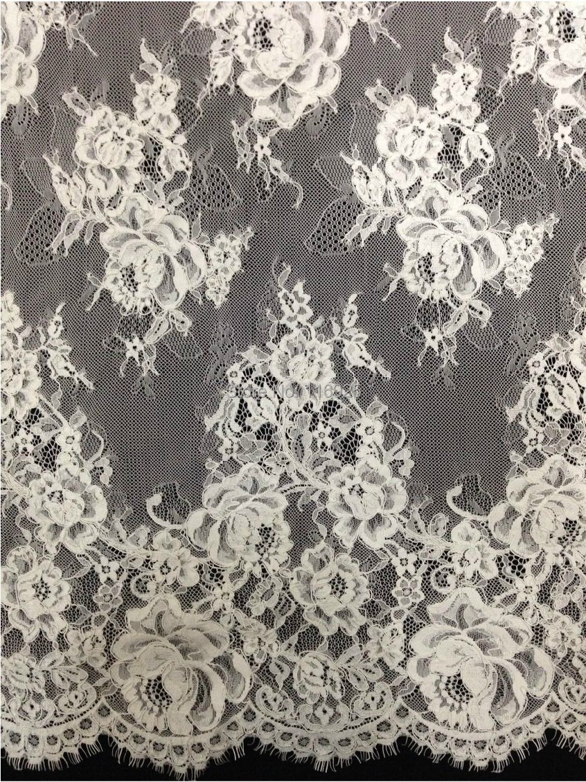 Buy embroidery corded french lace fabric for French lace fabric for wedding dresses