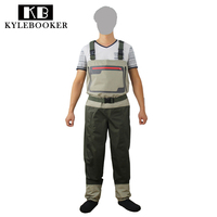 New Style Men S Fly Fishing Stocking Foot Chest Waders Affordable Breathable Waterproof Fishing Wader