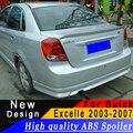 Для Buick Excell 2003 до 2007 Седан Высокое качество ABS спойлер любой цвет или праймер заднее крыло автомобиля украшение спойлер
