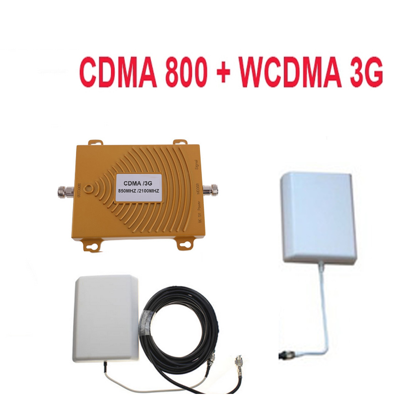 New dual band ripetitore CDMA 800 Mhz Booster + 3G WCDMA Ripetitore dual band di richiamo kit w/via cavo e antenne, GSM dual band ripetitoreNew dual band ripetitore CDMA 800 Mhz Booster + 3G WCDMA Ripetitore dual band di richiamo kit w/via cavo e antenne, GSM dual band ripetitore