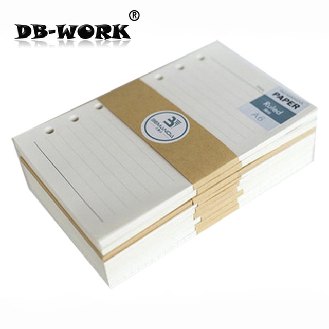 2018 Loose leaf paper A6 notepad for core woodfree printing paper