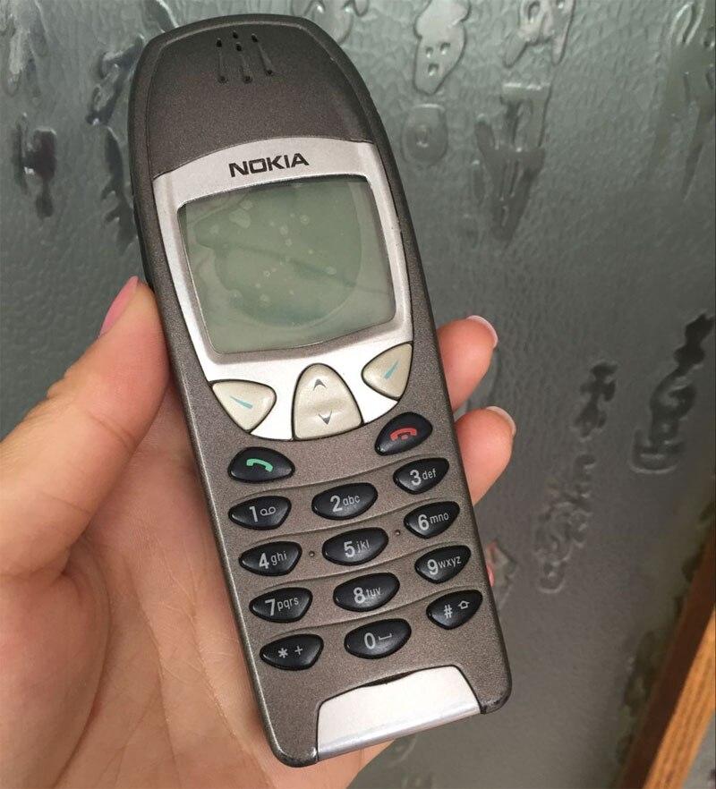 Цена за Оригинальный Nokia 6210 Телефон 2 Г GSM 900/1800 Разблокирована Используется телефон