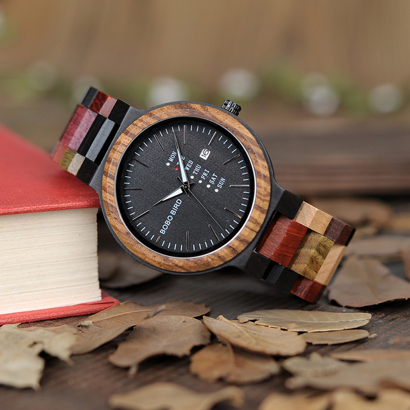 wooden watches for men bobo bird wrist watch (20)
