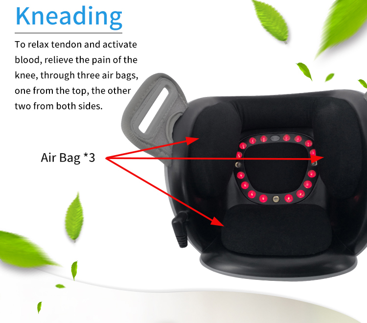 body electronic massager for knee arthritis pain relief cold laser physical therapy device elderly care massager cold pain relief laser therapy treatment device for body pain arthritis prostatitis wound healing