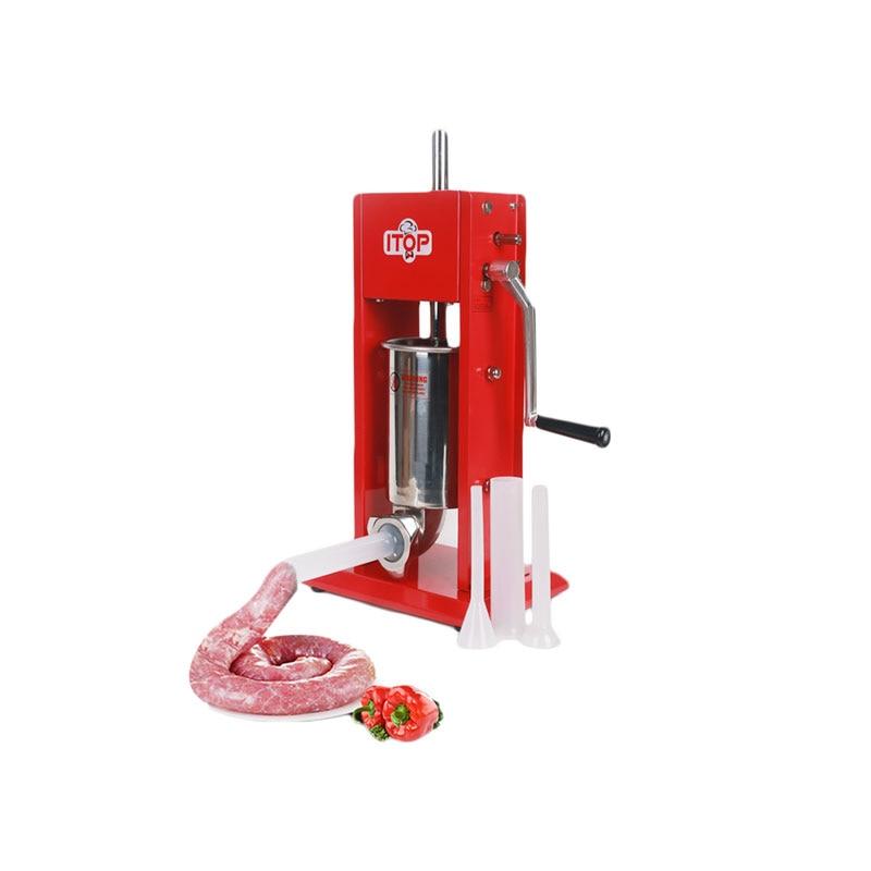 Food Processor 3L Big Sausage Maker Manual Sausage Stuffer Machine Fast Delivery Making Filling Vertical Sausage Filler in Food Filling Machines from Home Appliances