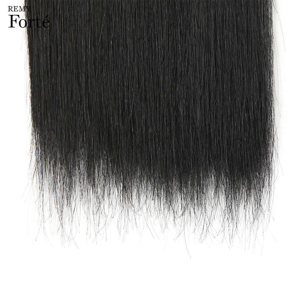 Remy Forte волос бразильское наращивание волос Weave Связки 10a девственные волосы прямые пучки волос 2/3 Связки поставщики волос