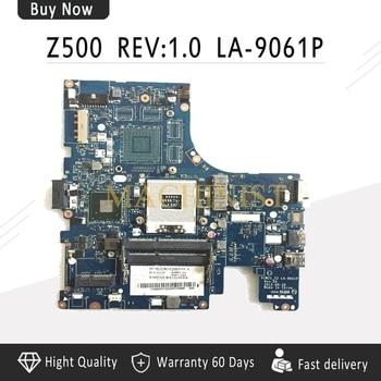 For Lenovo Ideapad Z500 Laptop Motherboard VIWZ1 Z2 LA-9061P Main Board HM76 DDR3 (DVD Connector 10PIN)