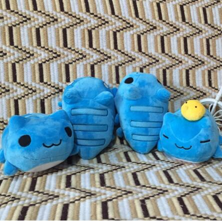Bugcat Capoo Cosplay Blue Cute Cat Toy Anime Stuffed & Plush Cartoon Doll New arrive