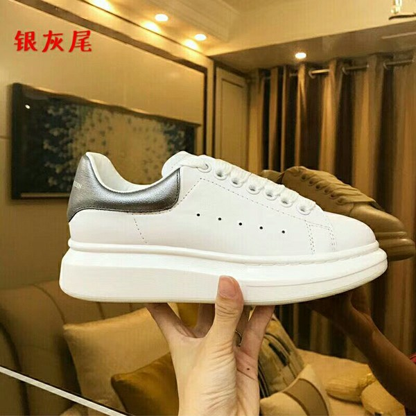 New 2019 Men Casual Shoes Lace Up Sneakers Spring and Autumn Genuine Leather Men's Flats Couple Shoes Big Size 35-44(China)