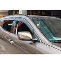 Набор из 4 шт. Высокое Качество Пластиковые окна visor дефлектор для BMW X5 F15 2014 2015 Автомобилей Стайлинг аксессуары!