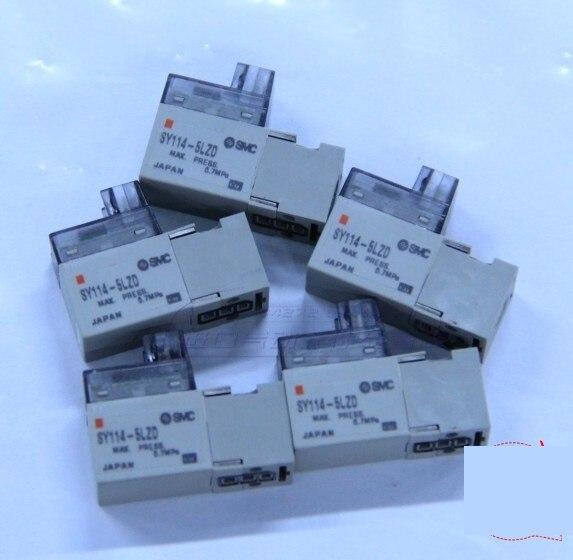 цена на BRAND NEW JAPAN SMC GENUINE VALVE SY114-5LZD