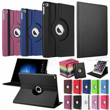 Cover For Apple iPad Pro 9.7 Case PU Leather Flip Smart Stand 360 Degree Rotating Case Cover A1673 High Quality