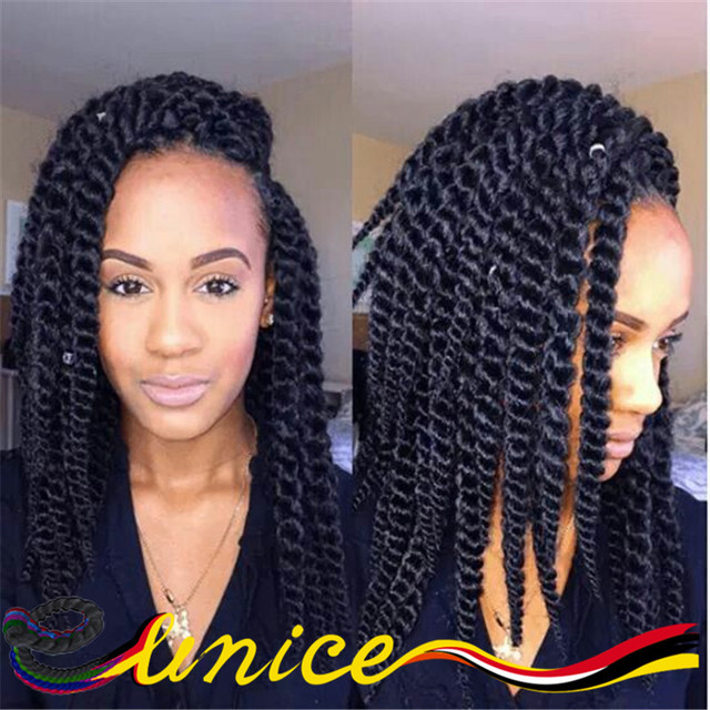 Marley Hair Crochet Styles 14 16 Kanekalon Jumbo Braid Hair Havana