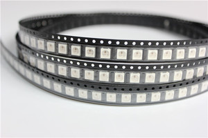 10 ~ 1000 stücke WS2812B (4 pins) LED Chip 5050 RGB SMD Weiß version WS2812 Individuell Adressierbare Digitale Pixel DC5V