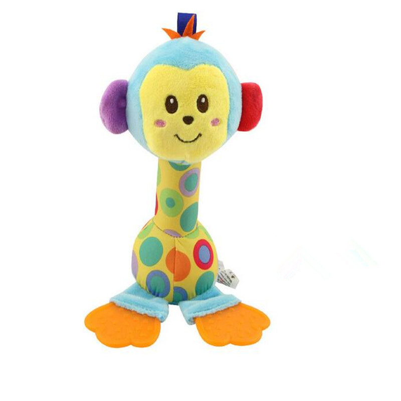 CHLADDY Lovely Sounds Teether Rattle Toy For Baby's