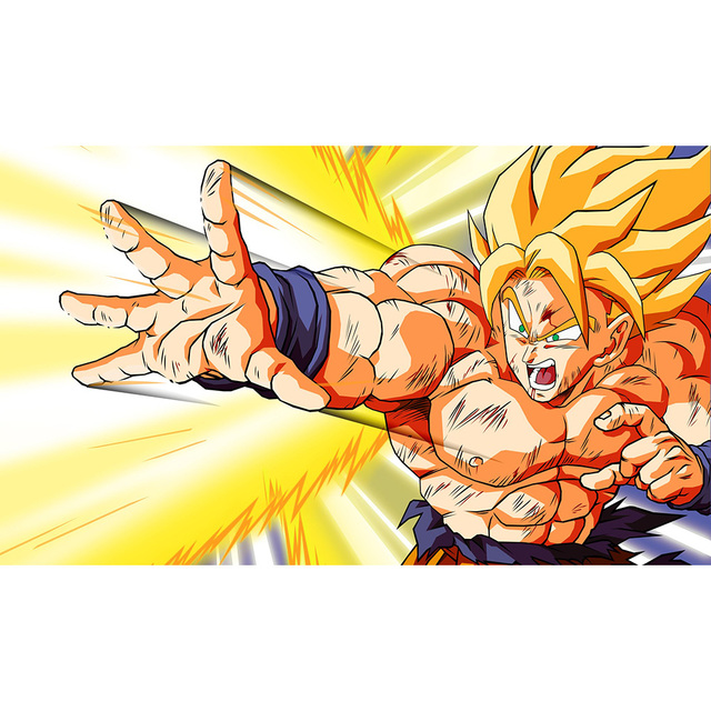 Dragon Ball Z Fondos De Pantalla Playmat Edicion Limitada 35x60 Cm