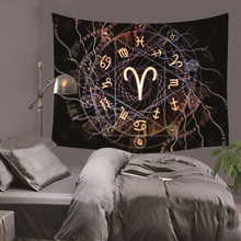 Psychedelic Constellation Galaxy Space Pattern Tapestry Wall Hanging Light-weight Polyester Fabric Decor Home DH0021