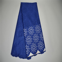 African Lace Fabric 5Yds Pce By DHL Laser Cut Lace Fabric For Women Party Dresses 2018