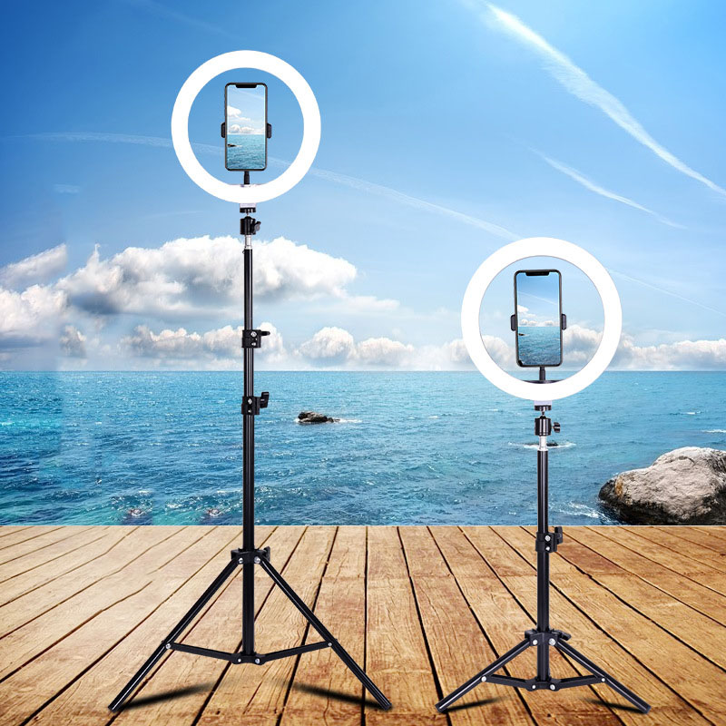 led ring light selfie 14inch Dimmable USB Makeup Ring Lamp Phone Holder Tripod Photography for Selfie Camera Youtube Video Shoot