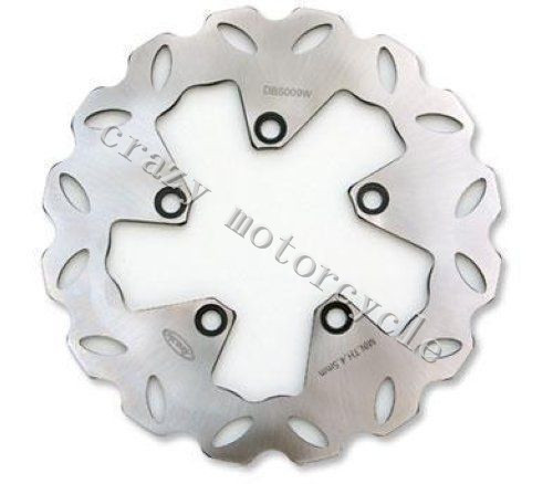 Free shipping motorcycle Front Brake Rotor Disc For SUZUKI RF600R 96-97 GSX600F 98-06 GSF600 BANDIT 95-06 RF600R 93-95 SV650 99 keoghs motorcycle brake disc brake rotor floating 260mm 82mm diameter cnc for yamaha scooter bws cygnus front disc replace
