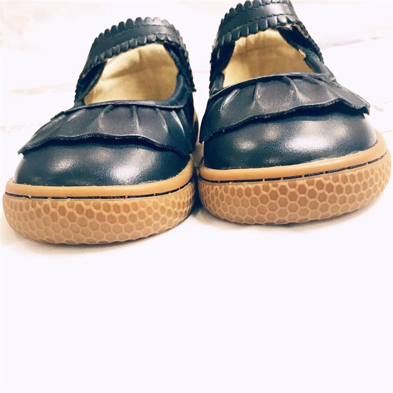 2018 модные дизайнерские школы для мальчиков и девочек детская кожаная обувь для мальчиков и девочек детская обувь для детей темно-