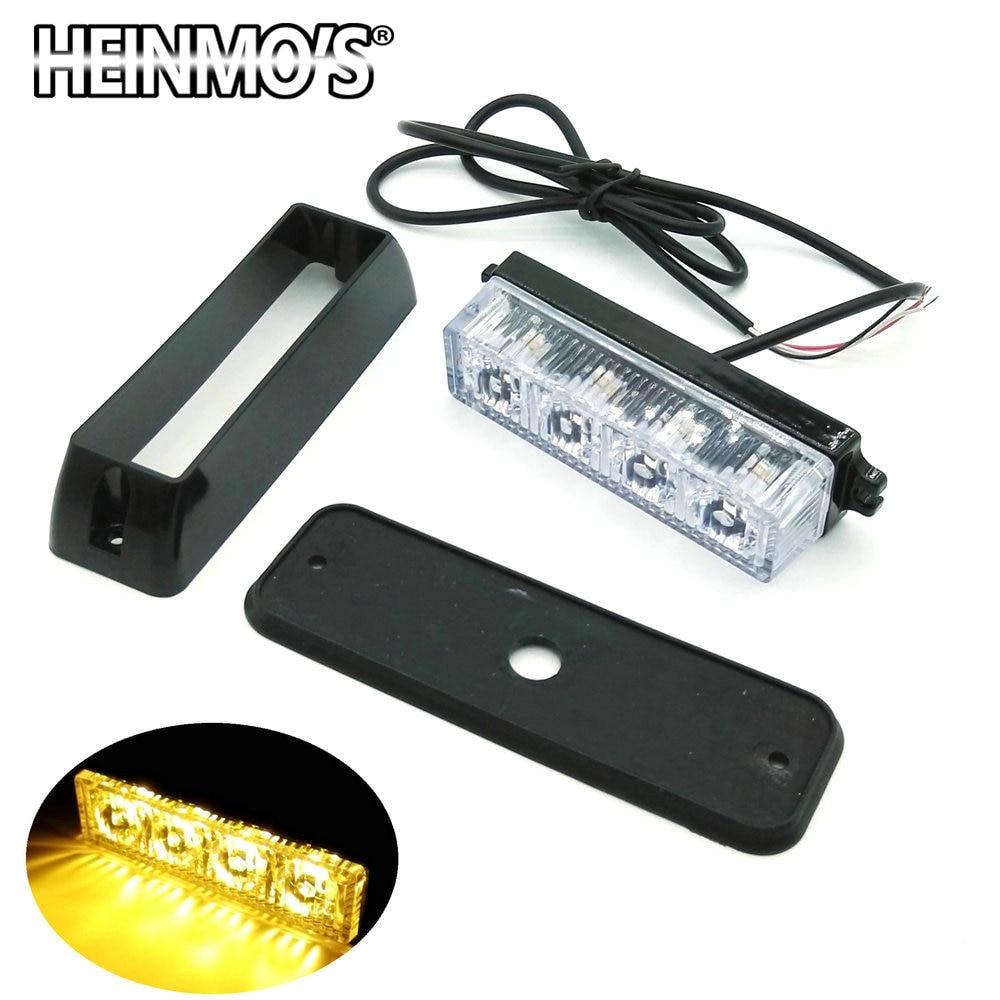 3 LED / 4 led led Car Truck Flash մառախուղի լույս, - Ավտոմեքենայի լույսեր - Լուսանկար 2