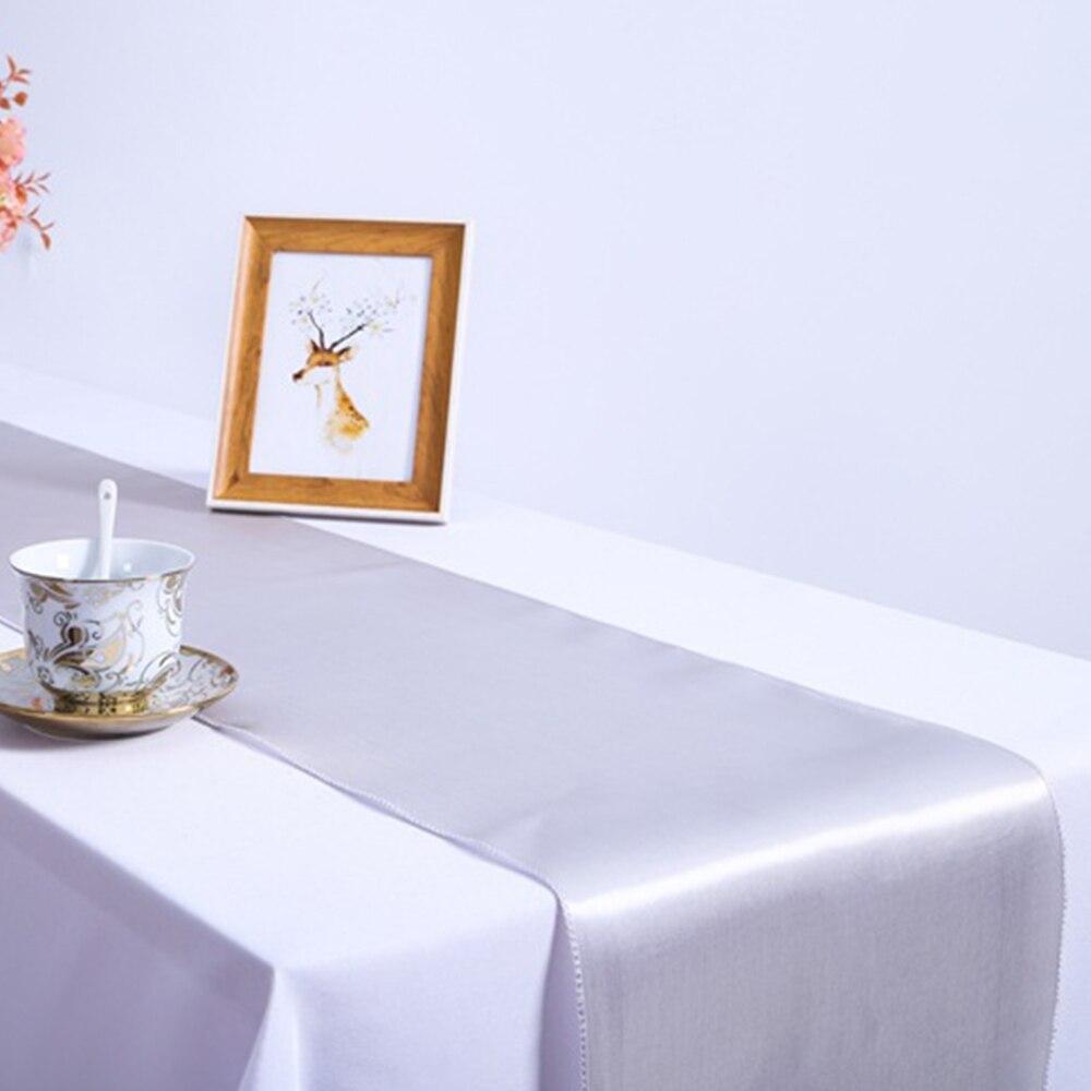 10 Stuk Satijn Tafelloper Voor Bruiloft Banket Decoratie Supply Top Kwaliteit 30 Cm X 275 Cm 2019 Nieuwste Stijl Online Verkoop 50%