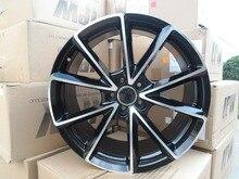 20 дюймов 5×112 et 35 Черный Машина Для Лица Колесные Диски W654