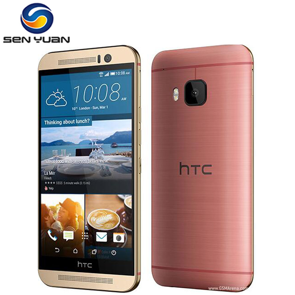 bilder für Original HTC ONE M9 Freigesetzter handy octa-core 3 GB RAM 32 GB ROM ORIGINAL-HANDY-20MP Kamera 3G & 4G WIFI GPS m9 handy